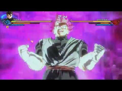 Dragonball Xenoverse 2 Super Saiyan God,Blue,Rose,Rose Kaioken for CAC (Mod showcase)