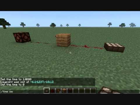 Minecraft: How To Make A Redstone Lamp Turn On At Night