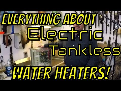 EVERYTHING about Electric Tankless Water Heaters