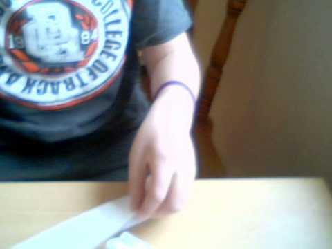 how to make a paper ray gun mark 2 for begginers