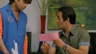 MBPA - Comedy Scene - Akshaye Khanna - Rajpal Yadav - Archana Puran Singh - Innocent Mannu Arrested