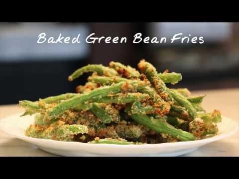 Baked Green Bean Fries | Recipe