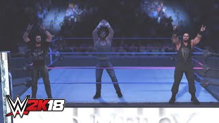 WWE 2K18 entrance mashup: The Shield as The Club