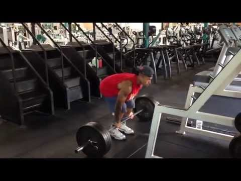 Full Back Workout @ Pro Fitness / Billerica MA /  Abs of SteeL