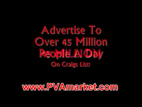 Use Craigslist PVA to Advertise To 45 Million+ Daily