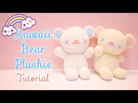 DIY Kawaii Bear Plushie Tutorial !