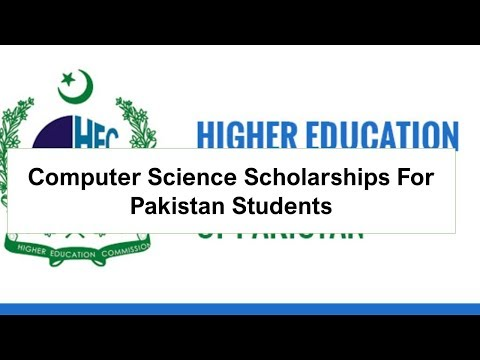 Computer Science Scholarships For Pakistan Students