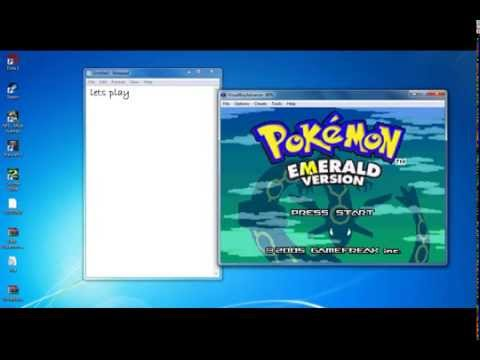 how to download & play pokemon emerald for win 7