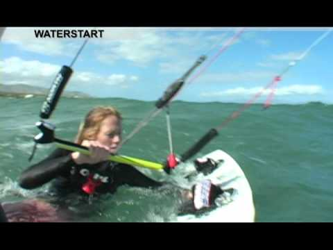 KITEBOARDING LESSONS - How to Waterstart
