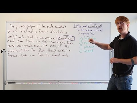 TOEFL Tuesday: Vocabulary Questions