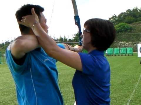 Archery - A Beginner Practise Shooting (24 July 2010 @ Ulsan, South Korea)