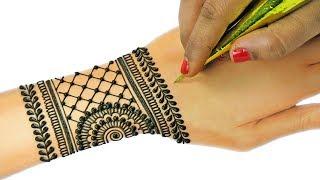 Attractive Jewellery Mehndi Design For Hands | Mehndi Designs for Hands #79 @ jaipurthepinkcity