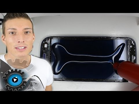 Samsung Galaxy S3 Glas Vollverklebung mit LOCA UV Kleber unter 20€ reparieren Loca Glue Teil 4
