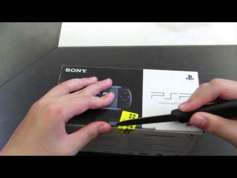 Sony PSP 3000+accessories unboxing!(Piano Black)
