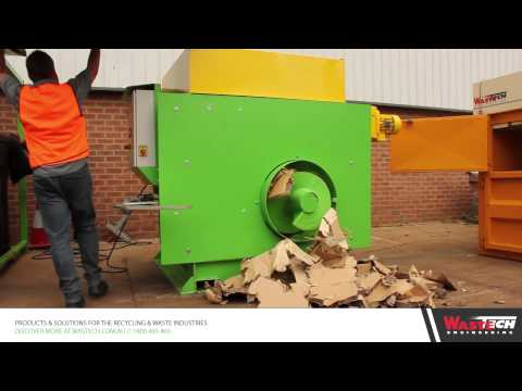 Wastech Cardboard Crusher - Presto PZZ