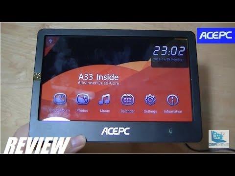 REVIEW: ACEPC P1 - Wi-Fi Cloud Digital Photo Frame!