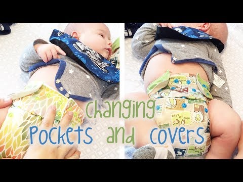 Changing Cloth Diapers, Pockets and Covers - The290ss