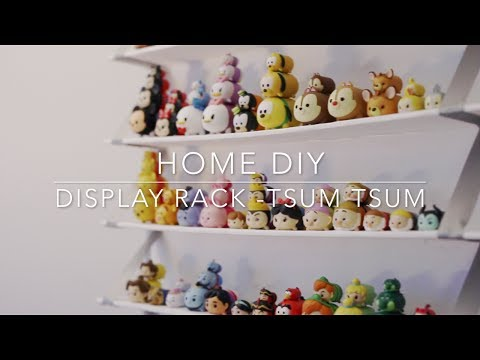 HOME DIY Shelving Display - TSUM TSUM