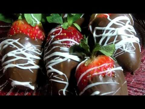 Infused Chocolate Covered Strawberries Recipe (injected with Moscato)