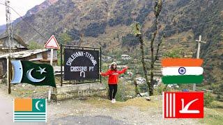 Travel vlog !Jamu kashmir & Azad kashmir neelam valley keran . Shardra bridge
