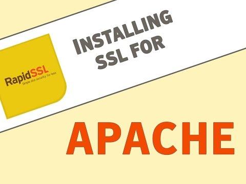 Install an SSL Certificate for Apache Servers