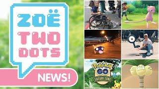 SAFARI ZONE, NEW MEW & EXCLUSIVE UNOWN @ E3! ZTD News | ZoeTwoDots