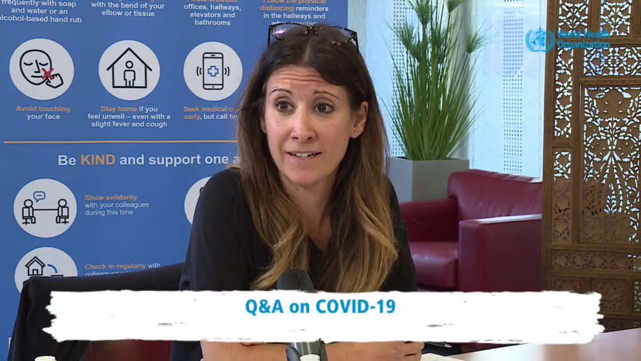 #COVID19 LIVE Q&A with Dr Mike Ryan and Dr Maria Van Kerkhove - #AskWHO of 30 September 2020
