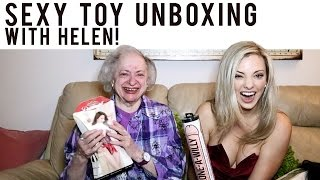 Sex Toy Unboxing with a Grandma!!