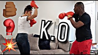 DAMIEN VS BIANNCA BOXING MATCH | THE PRINCE FAMILY