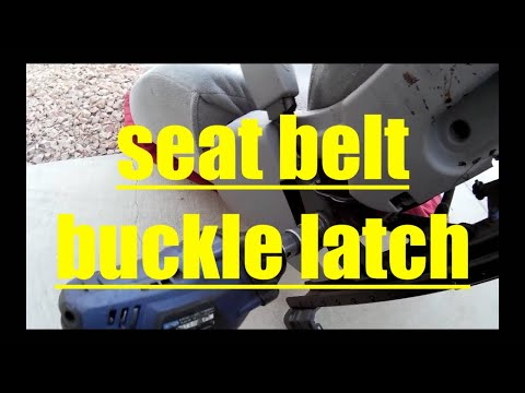 Replace Seat Belt Buckle Latch Toyota Camry √