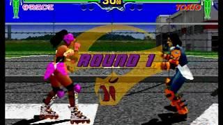 Fighting Vipers Akira Vs  Bahn - EachNow com
