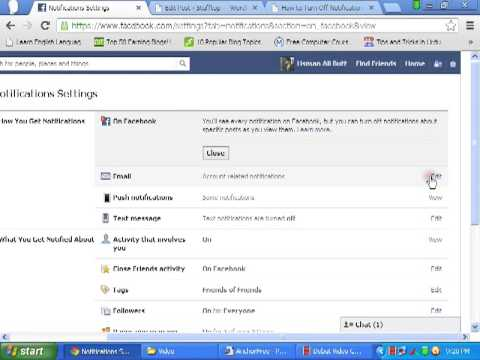 How to Turn Off Notification Sound On FaceBook