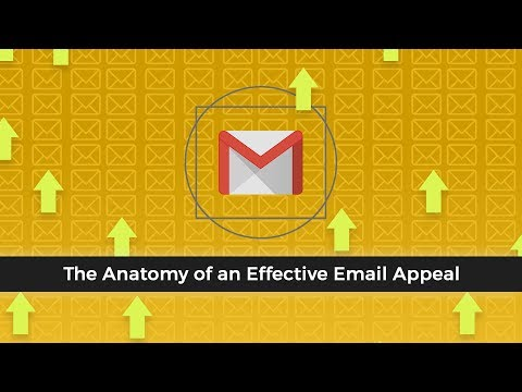The Anatomy of an Effective Email Appeal