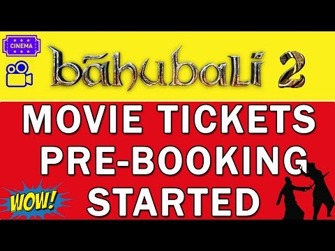Baahubali 2 Movie Ticket Booking Started - Get assured Movie Ticket