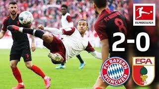 FC Bayern München vs. FC Augsburg I 2-0 I Müller & Goretzka Goals at 120th Birthday Party