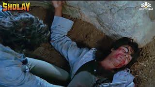 Amitabh Bachchan Death Scene | Emotional Fight Scene | Sholay Hindi Movie
