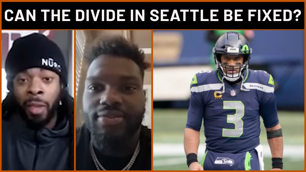 Richard Sherman + Shaq Barrett on whether Russell Wilson and the Seahawks can work it out | PFF