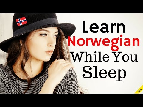 Learn Norwegian While You Sleep 😀  Most Important Norwegian Phrases and Words 😀 English/Norwegian