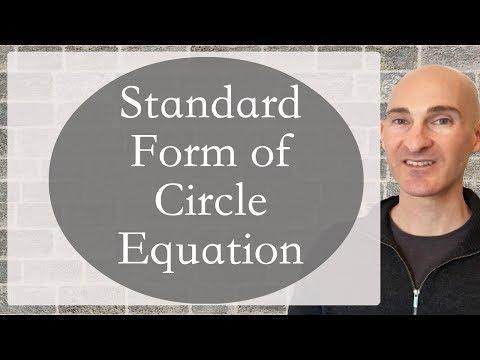 Circle Standard Form