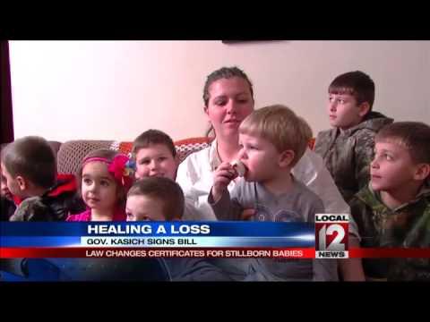 Gov. Kasich signs bill approving birth certificates for stillborn babies
