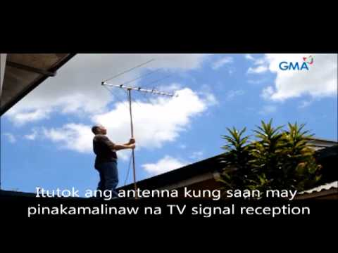 How to improve your TV signal reception for a better Kapuso viewing experience