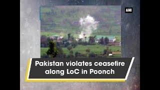 Pakistan violates ceasefire along LoC in Poonch - Kashmir News