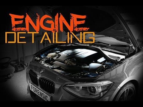 How to safely clean your engine bay - Engine bay detailing