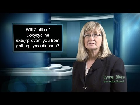 Will 2 Pills Prevent Lyme Disease?
