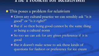 an introduction to absolutism and relativism What is the difference between absolutism and relativism in absolutism, the context is ignored in relativism, the context is recognized absolutism.