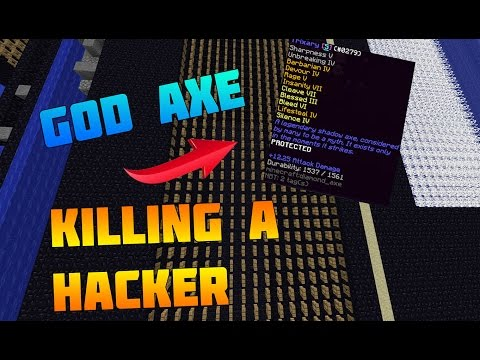 Minecraft Factions S3: HACKER GET BANNED WHILE PVPING HIM! #27 (cosmicpvp.me)