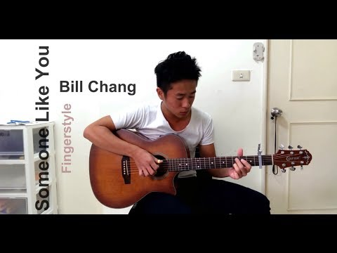Adele Someone Like You Fingerstyle Guitar Cover Arr Sungha Jung