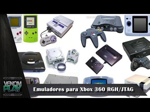 Emuladores para Xbox 360 RGH/JTAG