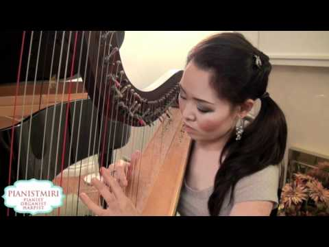 I Believe from My Sassy Girl (OST) | Harp Cover by Pianistmiri