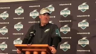 Doug Pederson gives update on Eagles' Carson Wentz